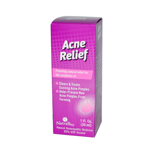NatraBio Acne Relief Oral Drops - 1 fl oz