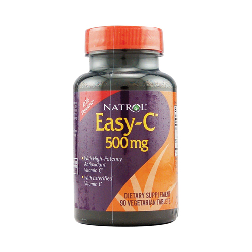 Natrol Easy-C - 500 mg - 90 Vegetarian Tablets
