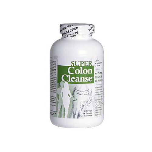 Health Plus Super Colon Cleanse - 500 mg - 240 Capsules