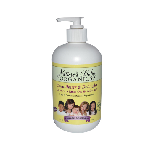 Nature's Baby Organics Conditioner and Detangler Lavender Chamomile - 16 fl oz