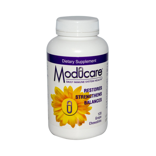 Moducare Immune System Support Grape - 120 Chewable Tablets