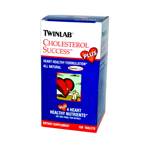 Twinlab Cholesterol Success Plus - 120 Tablets