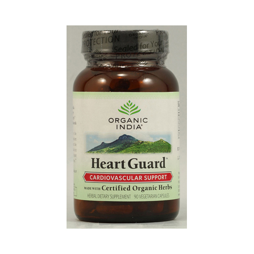 Organic India Heart Guard - 90 Vegetarian Capsules