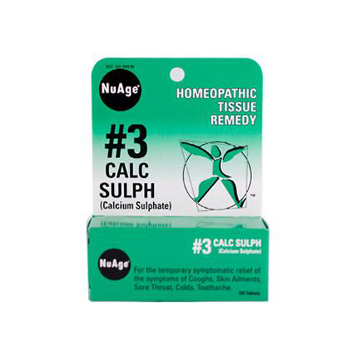 Hyland's NuAge No.3 Calc Sulph - 125 Tablets