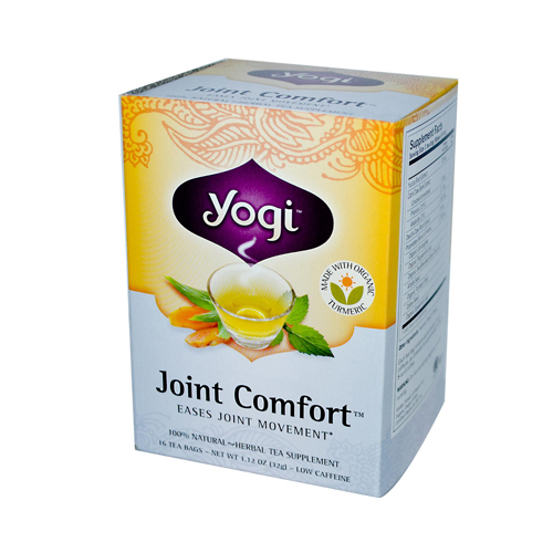 Yogi Joint Comfort Herbal Tea - 16 Tea Bags - Case of 6