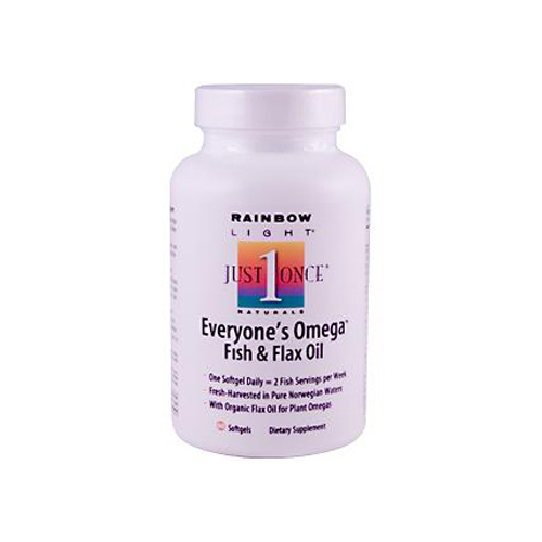 Rainbow Light Everyone's Omega Fish and Flax Oil - 60 Softgels