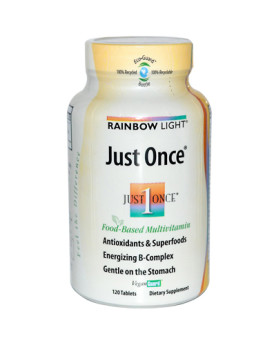 Rainbow Light Just Once Food-Based Multivitamin - 120 Tablets