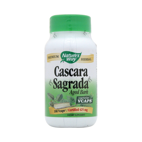 Nature's Way Cascara Sagrada Aged Bark - 100 Vcaps