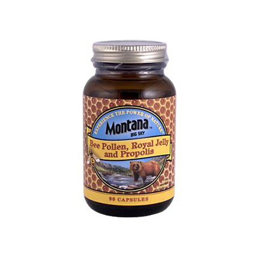 Montana Bee Pollen Royal Jelly and Propolis - 90 Capsules