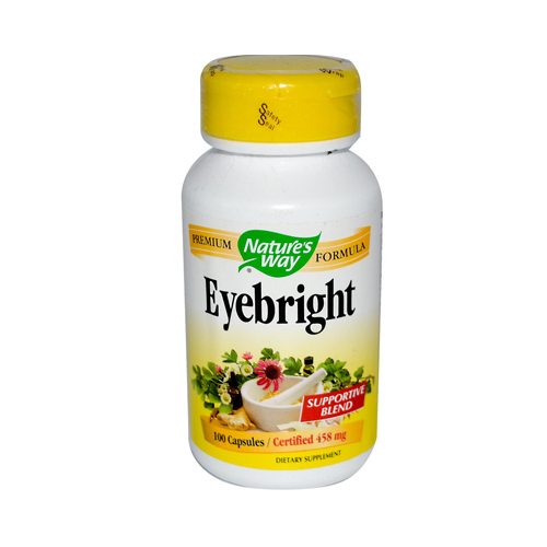 Nature's Way Eyebright - 100 Capsules