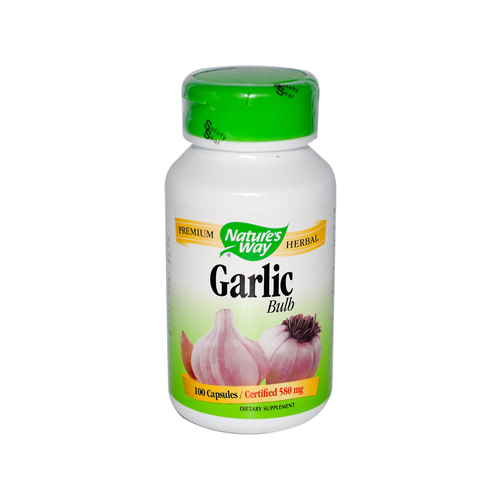 Nature's Way Garlic Bulb - 100 Capsules