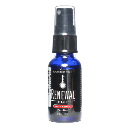 Always Young Renewal HGH Spray - Workout For Men - 1 fl oz