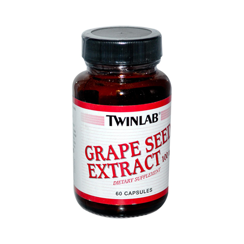 Twinlab Grape Seed Extract - 100 mg - 60 Capsules