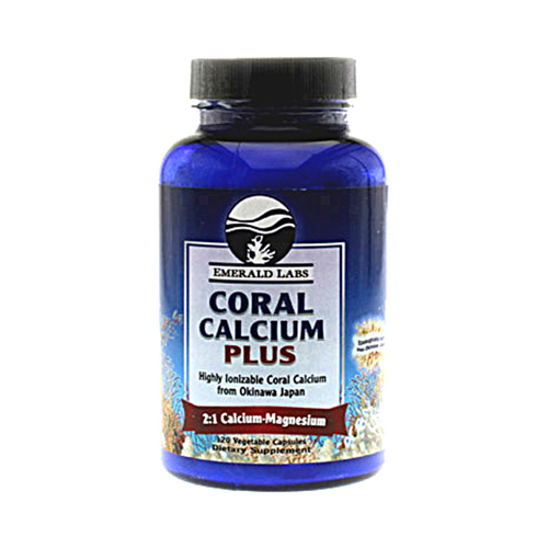 Emerald Labs Coral Calcium Plus - 120 Vegetarian Capsules