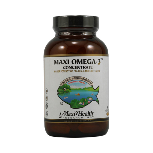 Maxi Health Maxi Omega 3 Concentrate - 90 MaxiGels