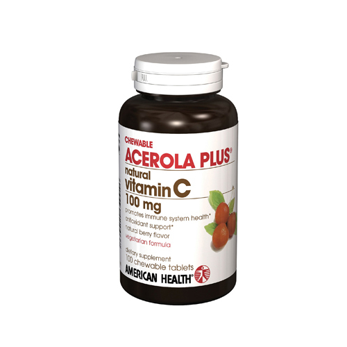American Health Acerola Plus - 100 mg - 100 Tablets