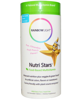 Rainbow Light NutriStars Delicious Fruit Blast - 120 Chewable Tablets
