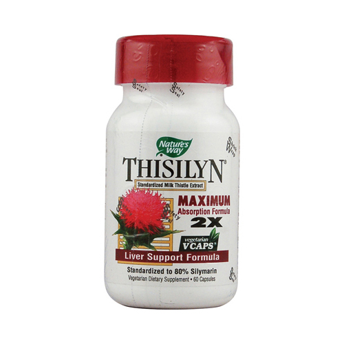 Nature's Way Thisilyn Standardized Milk Thistle Extract - 60 Capsules