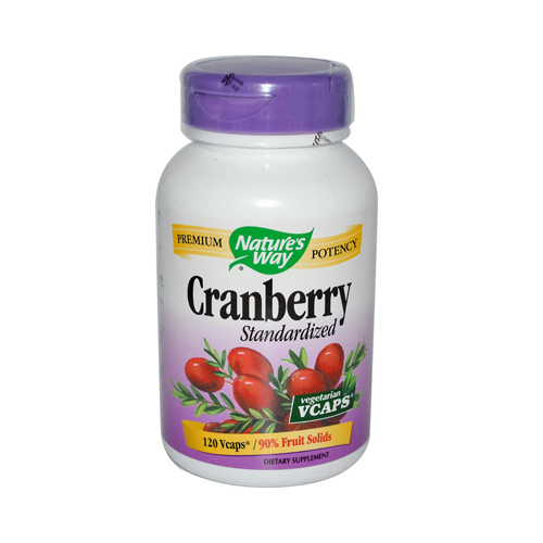 Nature's Way Cranberry Standardized - 120 Vcaps