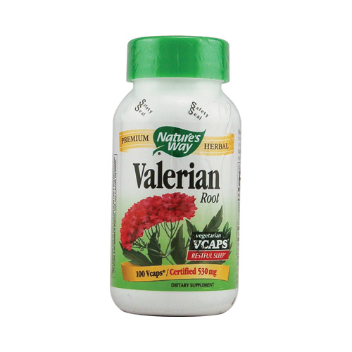 Nature's Way Valerian Root - 530 mg - 100 Vcaps