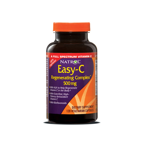 Natrol Easy-C Time Release - 500 mg - 120 Tablets