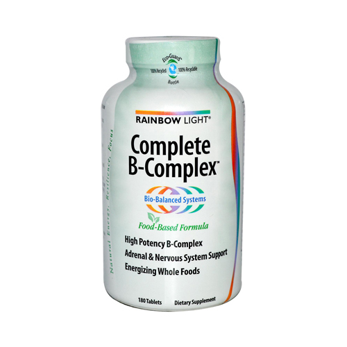 Rainbow Light Complete B-Complex - 180 Tablets