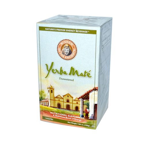 Wisdom Natural Yerba Mate Loose Tea Unsweetened - 7 oz