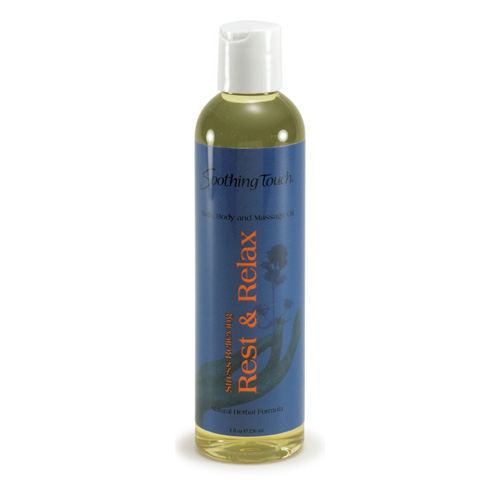 Soothing Touch Bath and Body Oil - Rest/Relax - 8 oz