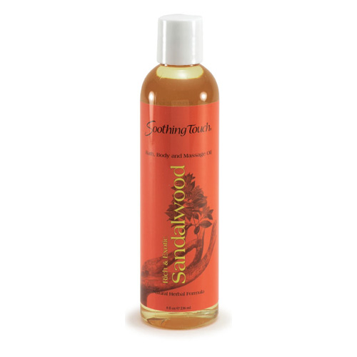 Soothing Touch Bath and Body Oil - Sandalwood - 8 oz