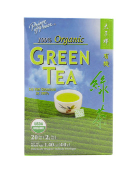 Prince of Peace Organic Green Tea - 20 Tea Bags