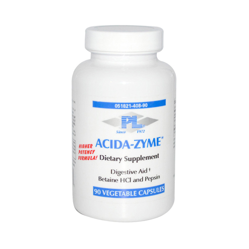 Progressive Laboratories Acida-Zyme Dietary Supplement - 90 Capsules
