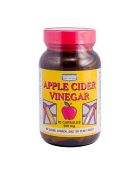 Only Natural Apple Cider Vinegar - 500 mg - 90 Capsules