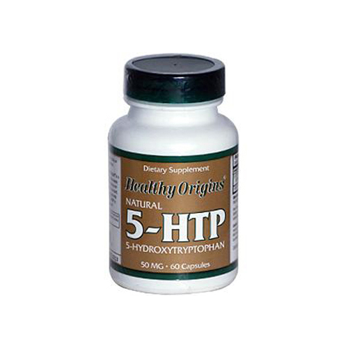 Healthy Origins Natural 5-HTP - 50 mg - 60 Capsules