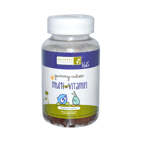 Natural Dynamix Kids Gummy Multi-Vitamins - 60 Gummies