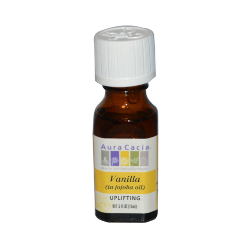 Aura Cacia Vanilla in Jojoba Oil - 0.5 fl oz