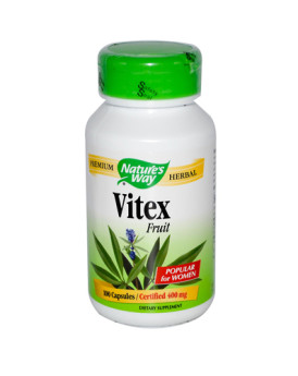 Nature's Way Vitex Fruit - 400 mg - 100 Capsules