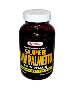 Action Labs Super Saw Palmetto Plus Pygeum - 100 Capsules