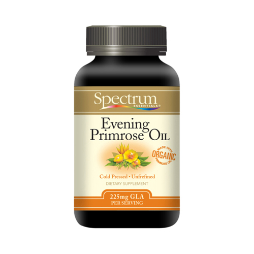 Spectrum Essentials Organic Evening Primrose Oil - 500 mg - 100 Softgels