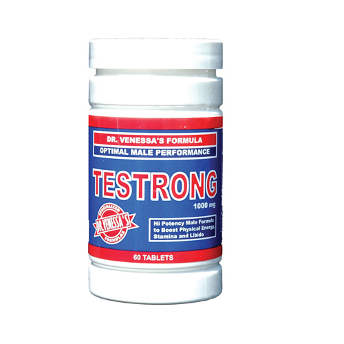 Dr. Venessa's Testrong Optimal Male Performance - 1000 mg - 60 Tablets