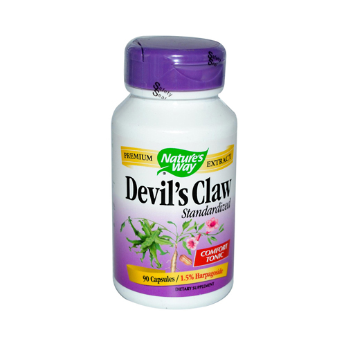 Nature's Way Devil's Claw Standardized - 90 Capsules