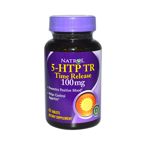 Natrol 5-HTP TR Time Release - 100 mg - 45 Tablets