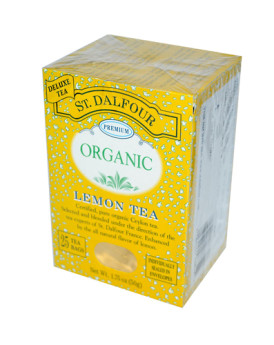 St Dalfour Organic Tea Lemon - 25 Tea Bags