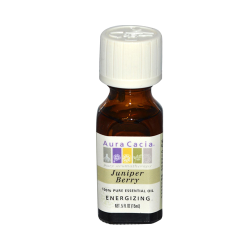 Aura Cacia Essential Oil Juniper Berry - 0.5 fl oz