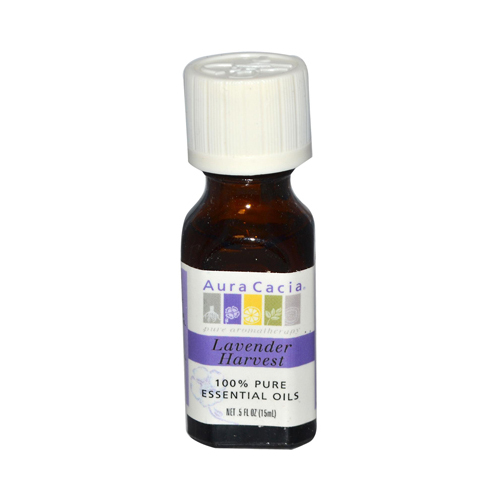 Aura Cacia Pure Essential Oil Lavender Harvest - 0.5 fl oz