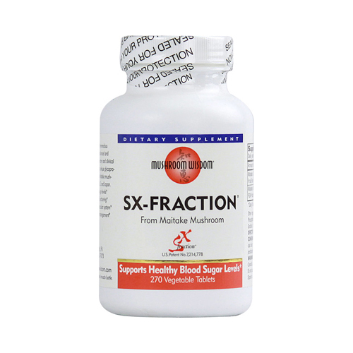 Mushroom Wisdom SX- fraction - 270 Vegetable Tablets