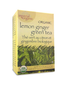 Uncle Lee's Tea Organic Imperial Lemon Ginger - 18 Bags