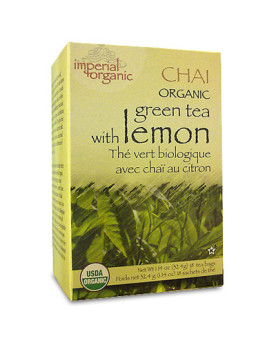 Uncle Lee's Tea Organic Imperial Lemon Chai - 18 Bags