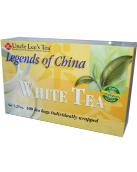 Uncle Lee's Legends of China White Tea - 100 Tea Bags