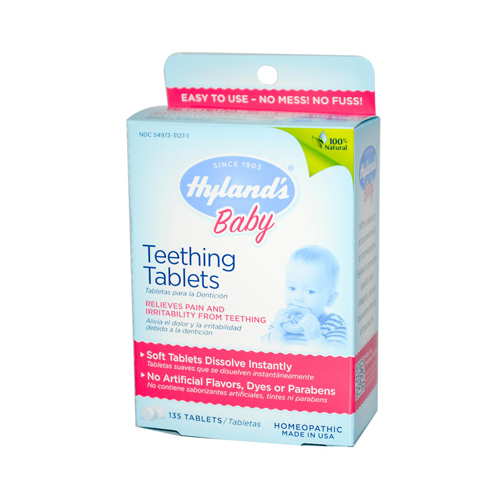 Hyland's Teething Tablets - 135 Tablets