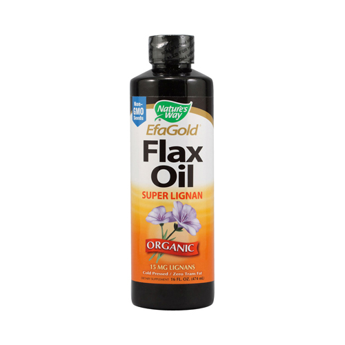 Nature's Way EFAGold Flax Oil Super Lignan - 16 fl oz